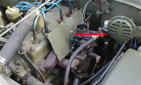 carburateur solex jeep hotchkiss